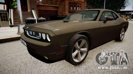 Dodge Challenger SRT8 2010 pour GTA 4