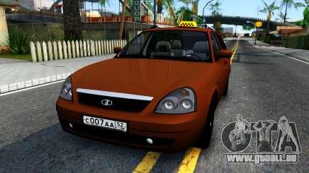 VAZ 2171 Taxi pour GTA San Andreas