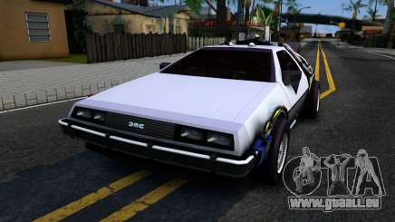 Delorean DMC-12 Time Machine für GTA San Andreas