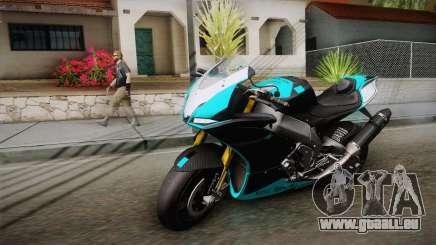Aprilia RSV-4 Blue Edition für GTA San Andreas