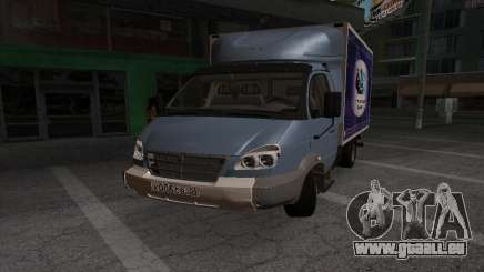 GAZ 3310 Valday pour GTA San Andreas