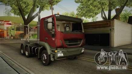 Iveco Trakker Hi-Land 6x4 Cab Low v3.0 pour GTA San Andreas