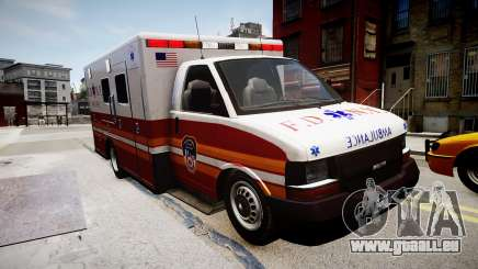 F.D.N.Y. Ambulance pour GTA 4