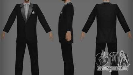 Un clochard avec une veste pour GTA San Andreas