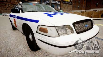 Ford Crown Victoria Police DPS pour GTA 4