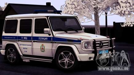 Mercedes-Benz G55 AMG ГУ МВД pour GTA San Andreas