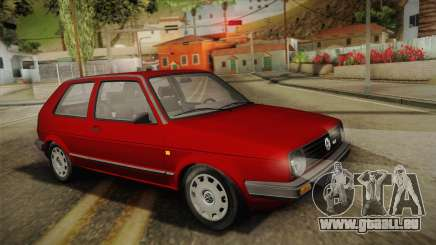 Volkswagen Golf Mk2 Stock pour GTA San Andreas