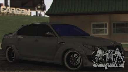 BMW E60 Hamann pour GTA San Andreas
