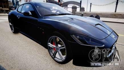 Maserati GranTurismo MC Stradale 2014 pour GTA 4