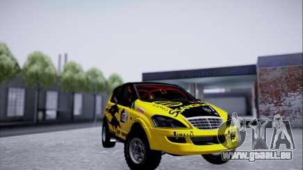 SsangYong Kyron 2 Rally Dacar für GTA San Andreas