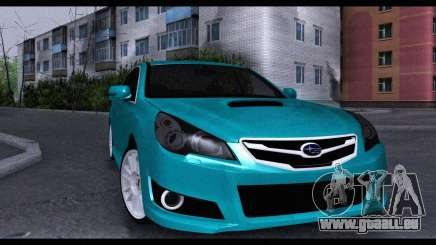 Subaru Legacy B4GT 2010 pour GTA San Andreas