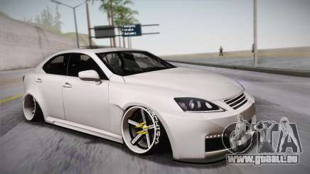 Lexus IS F 2009 Hachiraito für GTA San Andreas