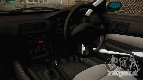 Nissan Silvia S14 Drift v2 pour GTA San Andreas vue intérieure