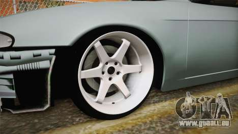 Nissan Silvia S14 Drift v2 pour GTA San Andreas vue arrière