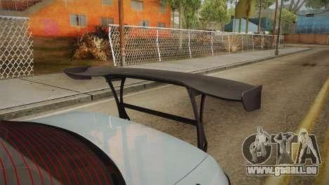 Nissan Silvia S14 Drift v2 pour GTA San Andreas vue de côté