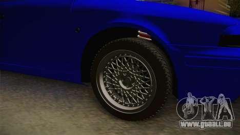 Skoda Octavia Simply Clean für GTA San Andreas Rückansicht