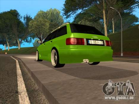 Audi 80 NFS für GTA San Andreas linke Ansicht