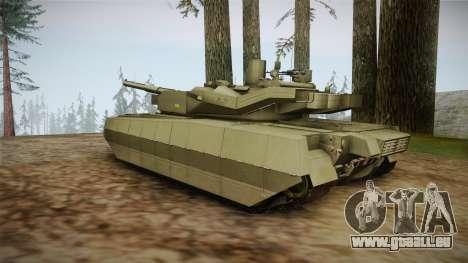 T-84 Oplot-M pour GTA San Andreas vue de droite