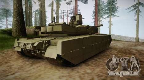 T-84 Oplot-M pour GTA San Andreas laissé vue