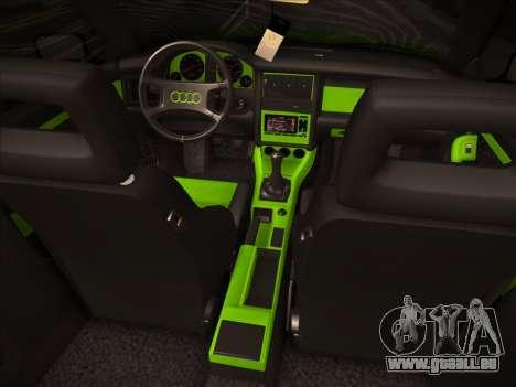 Audi 80 NFS für GTA San Andreas rechten Ansicht