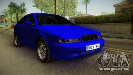 Skoda Octavia Simply Clean für GTA San Andreas