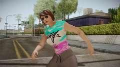 GTA Online DLC Import-Export Female Skin 1 pour GTA San Andreas