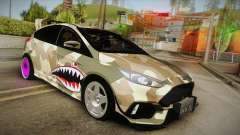 Ford Focus RS 2017 4x4 Drift