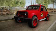 GTA 5 Canis Mesa Jurassic Park