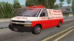 Palästinensische Krankenwagen