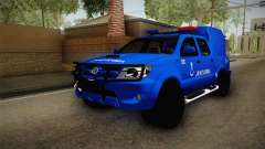 Toyota Hilux Turkish Gendarmerie Vehicle für GTA San Andreas