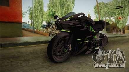 Kawasaki H2 2015 x Z1000 x Diavel pour GTA San Andreas