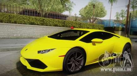 Lamborghini Huracan FBI 2014 pour GTA San Andreas