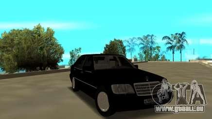 Mercedes-Benz 600SEL W140 pour GTA San Andreas