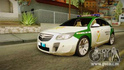 Opel Insignia Guardia Civil De La Circulation pour GTA San Andreas