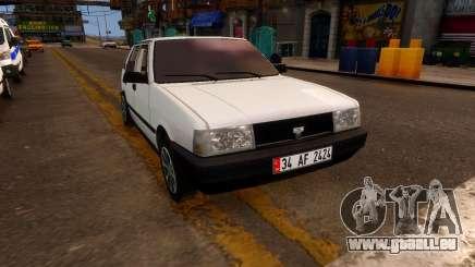 Tofas Sahin 34 Af 2424 pour GTA 4