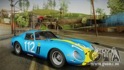 Ferrari 250 GTO (Series I) 1962 HQLM PJ2 für GTA San Andreas