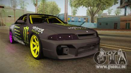 Nissan Skyline R33 Drift Monster Energy Falken pour GTA San Andreas