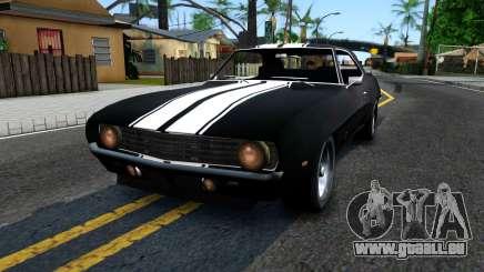 Chevrolet Camaro 1969 pour GTA San Andreas