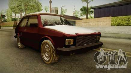 Yugo Koral 55 Winter pour GTA San Andreas