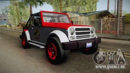 GTA 5 Canis Mesa SWB IVF pour GTA San Andreas