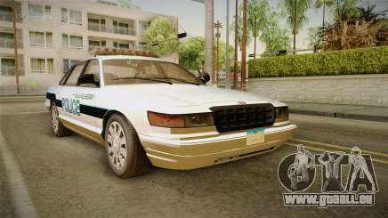 Brute Stainer Blueberry Police 1994 pour GTA San Andreas