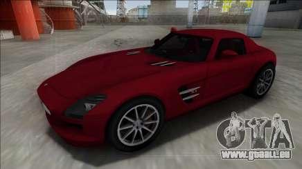 2010 Mercedes-Benz SLS AMG FBI pour GTA San Andreas