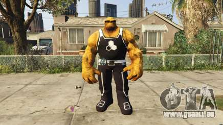 The Thing Black Jersey pour GTA 5