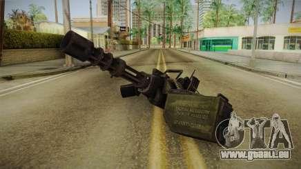 Minigun pour GTA San Andreas