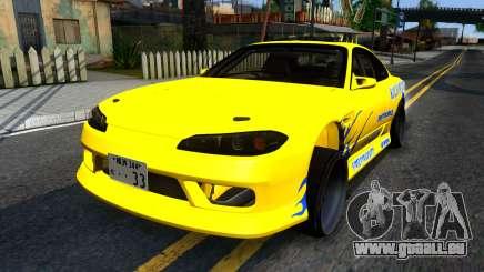 Nissan Silvia S15 Huxley Motorsport pour GTA San Andreas