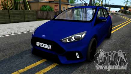 Ford Focus 2017 für GTA San Andreas