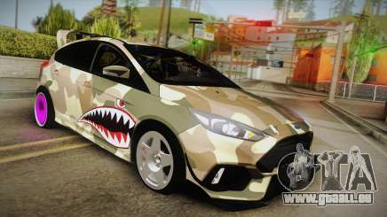 Ford Focus RS 2017 4x4 Drift für GTA San Andreas