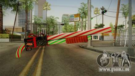 Vindi Xmas Weapon 2 für GTA San Andreas