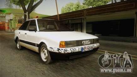 Audi 80 B3 V8 pour GTA San Andreas
