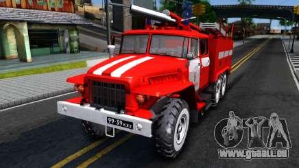 Ural 375 Viktor Kibenko für GTA San Andreas